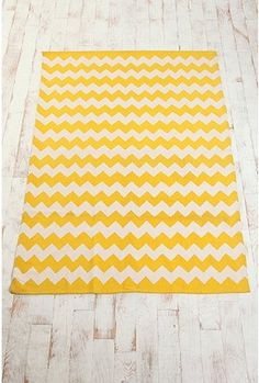 5x7 cheery chevron rug for $74. Also sold in grey, black, or blue.