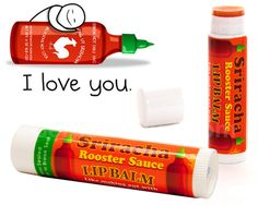 or,,, if not the bacon then how bout the Sriracha lip balm,,$3.99@perpetualkid.com