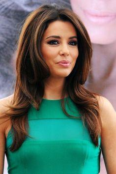 35 Eva Longoria hairstyles #hairstyles #celebrityhairstyles http://tinkiiboutique.com/(Medium Hair Extensions)