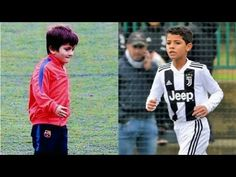 Who will rule the world between the son of Portugal & Juventus goalscorer Cristiano Ronaldo and son of Argentina & Barcelona goalscorer Lionel Messi Cristiano Ronaldo House, Ronaldo Wife, Messi Vs Ronaldo, Lionel Messi, Justin Bieber 2018, Ronaldo Skills, Top 10 Goals, Free Kick