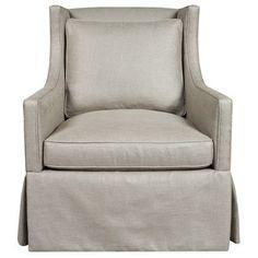 Layla Grayce California Slipcovered Chair