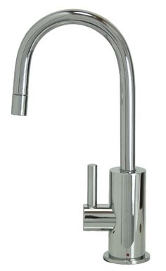 Francis Anthony Collection - Hot Water Faucet with Contemporary Round Body & Handle