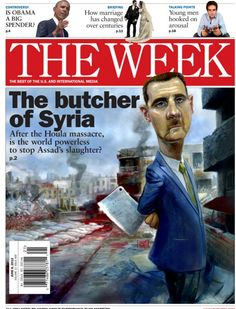 The butcher of Syria: June 8, 2012