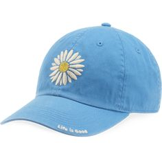 <p>Some hats you wear more than others - this is one of those hats. With embroidered art work on the front and heavy top stitching throughout, this is one you'll keep coming back to.</p> <ul> <li>100% Cotton</li> <li>Fabric and garment washed for softness</li> <li>Embroidered art work</li> <li>Life is Good label on the back</li> <li>Adjustable back closure with snap</li> &lt...