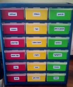 Lucky in Learning: Organization