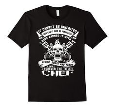 It Cannot Be Inherited Chef Tee Shirt