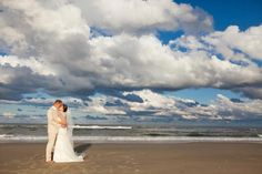 Beautiful Outer Banks Beach Wedding! Wedding Home Venues: http://www.beachrealtync.com/event_planning.htm