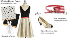 Make This Look ((via Make This Look: What a Debut Dress | The Sew...)