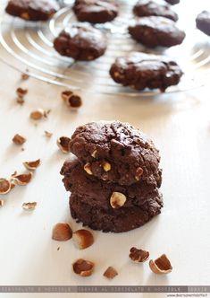 cookie cioccolato e nocciole #senzalattosio #senzauova #senzalievito