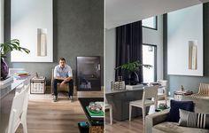 """Se você não pretende morar sozinho por muito tempo, como o arquiteto Ricardo Brito, não vale a pena investir em grandes reformas. """"Não derrubei paredes, alterei a planta ou mexi em pontos de elétrica"""", conta. De propósito, nada ali é embutido"""