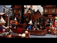 LEGO Kili gets left behind. Brotherhood Workshop. Love this. Why is this so funny?