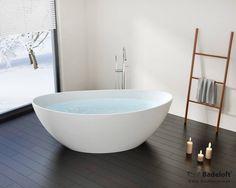 Freistehende Badewanne BW-03-XL : Wannen und Duschen von Badeloft GmbH