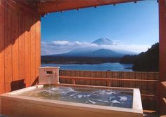 Yamanashi-prefecture, Japan... I wanna go all over Japan just to do onsen hopping!
