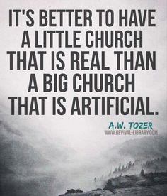 Thank God for my church!!