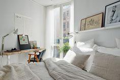biała sypialnia inspiracje
