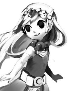 Zelda. Omg lets color it!