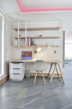 Office Desk, Corner Desk, Bedrooms, Loft, Projects, Furniture, Design, Home Decor, Desks