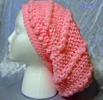 Super Slouchy Petal Pink Hat