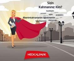 8 Mart Dünya Kadınlar Günü'ne özel #benimkahramanim hashtagi ile tweetini paylaş, seçilecek 5 tweetten biri seninki olsun, Medical Park'tan sağlık dolu sürprizler kazan!  Şimdi katılmak için: Twitter @MedicalParkHG