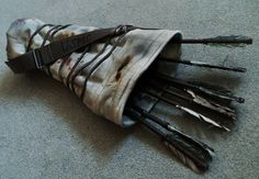Lara's quiver from Tomb Raider Reborn (2013) by F-elicia #tombraider #laracroft