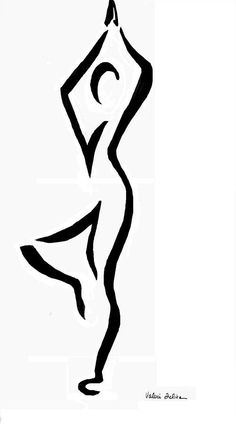 yoga drawing poses pose tree sketch painting silhouette drawings fine chakra tattoos club sitting clipartmag paintingvalley workout skill fineartamerica