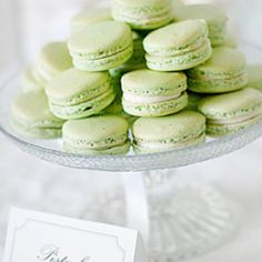 Lovely party themed mint green - perfect for St Patrick's Day!