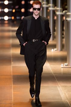 Saint Laurent Spring 2014 Menswear - Collection - Gallery - Style.com