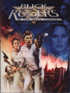 Buck Rogers 80s TV series. And I met Col. Wilma Deering (Erin Gray) last year. Yay :)