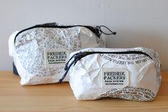 百年輪 tyvek MIRO Bag S size - Bonzaipaint x FREDRICK PACKERS - - Less web store Yoga Bag, Bag Packaging, Black Leather Bags, Big Bags, Backpack Bags, Pouches, Fashion Bags, Backpacks, Handmade