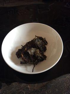 raw Pu-erh tea