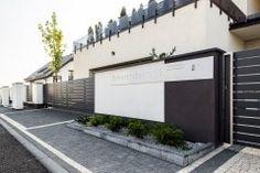Elementy ogrodzenia House Gate Design, Fence Design, Modern Fence, Backyard Fences, Garage Doors, Landscape, Outdoor Decor, Home Decor, Home Entrances