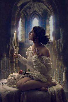 Christine daae inspired photo. Very beautiful