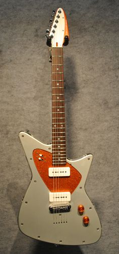 Fano Retrosphear Chambered Acrylic Guitar in Jupiter Orange - $1,999.99