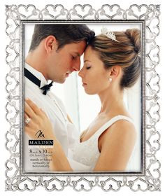 Enchanted Hearts Picture Frame