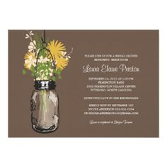 @@@Karri Best price          	Bridal Shower Mason Jar and Wildflowers Invite           	Bridal Shower Mason Jar and Wildflowers Invite Yes I can say you are on right site we just collected best shopping store that haveThis Deals          	Bridal Shower Mason Jar and Wildflowers Invite Review on the ...Cleck See More >>> http://www.zazzle.com/bridal_shower_mason_jar_and_wildflowers_invite-161579047637850157?rf=238627982471231924&zbar=1&tc=terrest