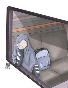 The train ride.