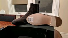 519f0c76e585 Yeezy Season 6 - washed canvas Chelsea boot size 11 (44) BNIB  fashion   clothing  shoes  accessories  mensshoes  boots (ebay link)