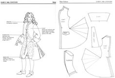 """Patterns for Theatrical Costumes"" www.pinterest.com"