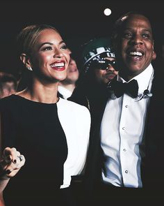 Bey and Jay Z