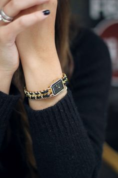 delicate Chanel watch