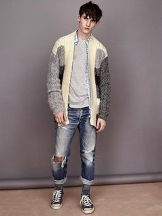 James Long for TOPMAN Knitwear Capsule Collection