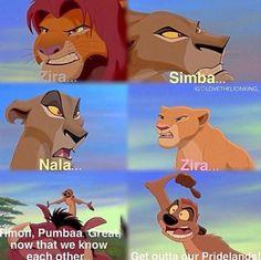 Trendy Funny Disney Quotes Hilarious The Lion King Lion King Funny, Lion King Fan Art, The Lion King, Lion King Movie, Disney Lion King, Funny Disney Memes, Disney Jokes, Disney Cartoons, Arte Disney