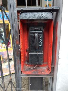 Old Pay Phone on Mission Street