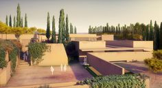 alvaro siza to construct the new gate of the alhambra