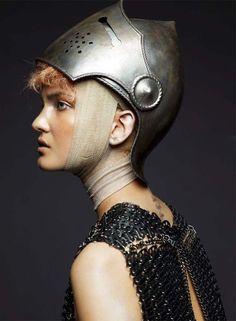 Joan of Arc inspired fashion