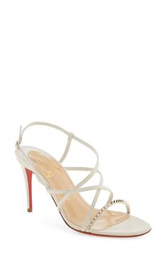 CHRISTIAN LOUBOUTIN 'Gwinispike' Sandal. #christianlouboutin #shoes #sandals
