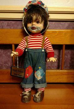 Generous Rare Dolls Ashton Drake Porcelain Doll The Tin Man Wizard Of Oz Collection 1994 Nib Pure White And Translucent