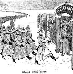 Caricature de Leslie Illingworth paru dans le Daily Mail le 2 février 1943