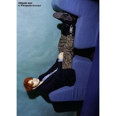 L'uomo Vogue Editorial Gerard Way by Pierpaolo Ferrari, April 2011 -... ❤ liked on Polyvore featuring my chemical romance, mcr, gerard way, editorial and pictures