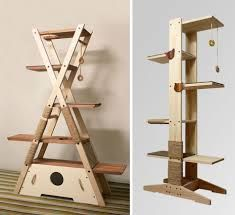 Great climber, with different levels and play stations Very Cool http://toysforcats.net